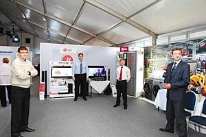 LG Electronics представила новинки в рамках выставки производителей потребительской электроники, организованной компанией «М.Видео»