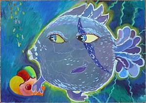 Галерея детских рисунков «В кругу друзей»