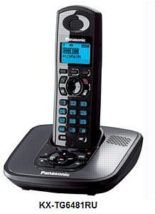Panasonic KX-TG6481RU: Телефон на все случаи жизни