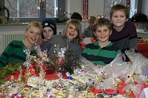 Компания «БИЛЛА» приняла участие в благотворительном «Рождественском базаре»