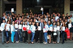 МакДональдз Юкрейн вручил стипендии лучшим сотрудникам-студентам