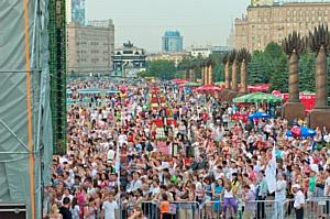 Жаркий День Молодежи от RU.TV и DFM состоялся