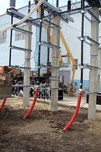 Специалисты Воронежэнерго успешно провели диагностику кабельных линий 110 кВ ПС Центральная  - ПС Калининская (110/6 кВ)