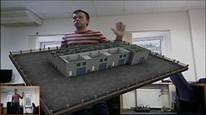 EligoVision представляет новое решение для 3D презентаций -   управление жестами