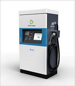 Delta Electronics разрабатывает высокоэффективные станции быстрой зарядки для электромобилей