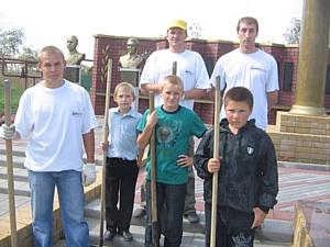 Молодежный совет филиала ОАО «МРСК Центра» - «Тамбовэнерго» принял участие в патриотической акции