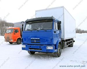 Изготовление автофургонов на новом шасси КАМАЗ-5308