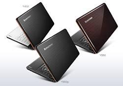 Ноутбуки Lenovo IdeaPad Y560 и Y460