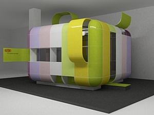 Архитектура как искусство: Инсталляция DuPont «Яблоко»