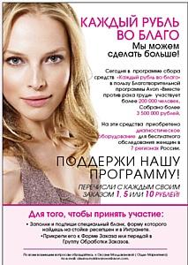 Каждый рубль во благо женского здоровья