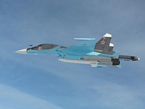 Новосибирский завод «Сухого» передал ВВС РФ еще два серийных фронтовых бомбардировщика Су-34