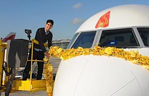 Новейший борт British Airways
