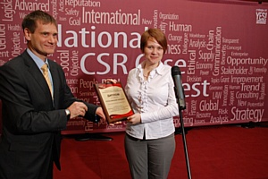 Группа компаний Terrasoft победила в конкурсе бизнес-кейсов по корпоративной социальной ответственности