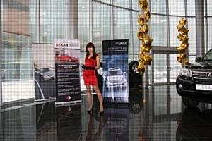 ARKAN Satellite – система безопасности экстра-класса для роскошного внедорожника Lexus GX 460