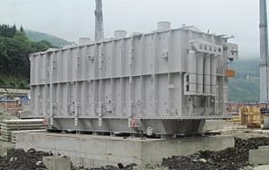 МЭС Юга установили новый автотрансформатор на подстанции 220 кВ Поселковая в Сочинском регионе