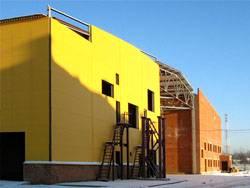 В Раменском районе завершается сооружение нового высокотехнологичного производственного комплекса кирпичного завода