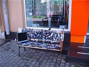 Цитрус Дискаунт создал первую в Украине Мобильную скамейку