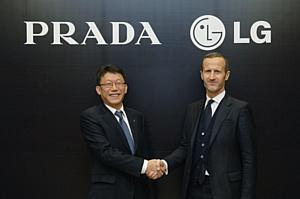 PRADA и LG укрепили партнерство, заключив эксклюзивное соглашение