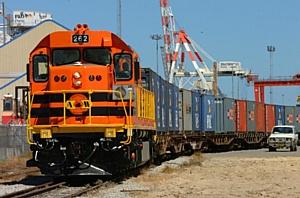 Контейнерный поезд Екатеринбург – Санкт-Петербург прибыл в северную столицу
