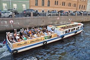 Лето рекламы на водном транспорте