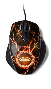 STEELSERIES ������������ ������� ���� WORLD OF WARCRAFT� MMO GAMING MOUSE: LEGENDARY EDITION.