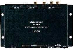 Crestron HD-DA-2: усилитель-распределитель и преобразователь аудиосигналов