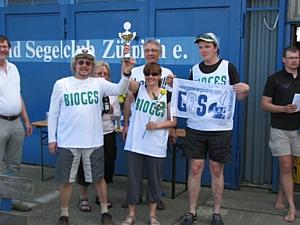 Яхтенная команда «БиоГЭС» завоевало золото на этапе Еврокубка в Германии в классе яхт «микро»
