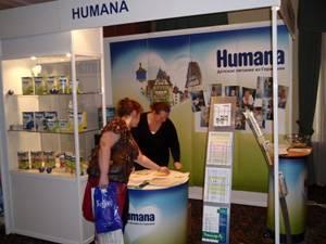 Бренд Humana принял участие в XIII Всероссийском Конгрессе диетологов и нутрициологов «Питание и здоровье»