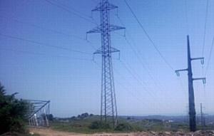 МЭС Юга приступили к монтажу провода на заходах линии электропередачи 220 кВ Псоу - Дагомыс на Адлерскую ТЭС