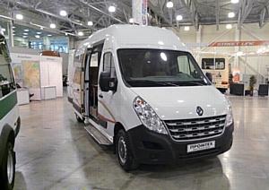 Премьерный показ микроавтобуса Renault Master на форуме МАФ 2011