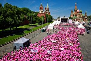 Компания Avon при поддержке агентства Fleishman-Hillard Vanguard и event агентства elefante организовала Пятый Юбилейный Марш Avon «Вместе против рака груди»