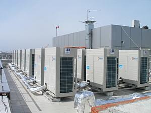 Система кондиционирования Midea в новом краснодарском центре международной торговли
