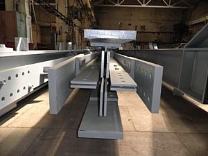 Продолжается поставка металлоконструкций по контракту, заключенному между Компанией Управление Строительства – 620 и Компанией  Betatek Construction