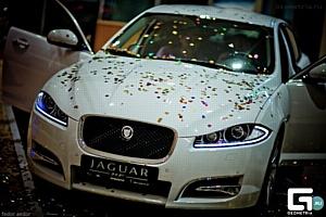 Новый Jaguar XF представили краснодарской публике при поддержке «Кубань-Вино»