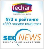 Маркетинговая группа «Текарт» в очередной раз признана одной из лучших компаний SEO-отрасли по мнению клиентов