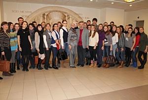 Татьяна Шахнес, директор по связям с общественностью LG Electronics выступила в МГУ