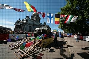 В Петербурге стартует крупнейшее в мире приключение по бездорожью - трофи-рейд «Ладога»