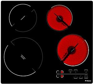 Новая варочная панель Hansa с индукционными и стеклокерамическими конфорками