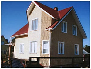 «Солнечный Дом» предлагает новый вариант отделки фасадов