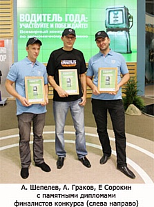 Определен победитель конкурса Volvo «Водитель года: Эффективность по максимуму»