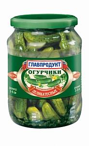 Новая линия маринованных корнишонов от компании «Главпродукт»