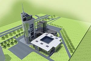Межгосударственная корпорация развития представила проект нового Международного Выставочного Центра на Выставке ЭКСПО «Китай-Евразия».