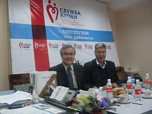 Органы власти Элисты решают региональные проблемы донорства
