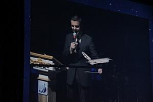«65 параллель»:  интерактивный проект компании EligoVision  на праздновании 65-летия  ОАО «Российские космические системы»