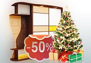 Только в канун Нового года: доставка и сборка мебели «Роникон» за полцены