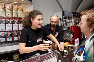 Россияне насладились чемпионским кофе
