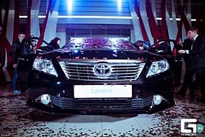 Новую Toyota Camry представили в Краснодаре