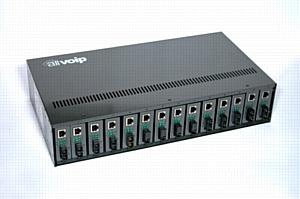 Медиаконвертерные шасси Allvoip® — гарант порядка в вашей серверной