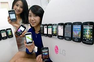Продажи LG OPTIMUS ONE во всем мире достигли 1 миллионa