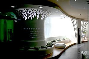 DuPont™ Corian® и дизайн бюро Valent LLP разработали интерьер для нового офиса «Сбербанка»